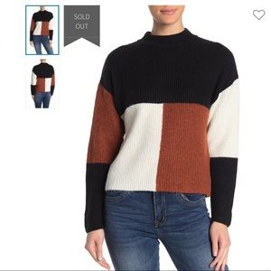 Abound Colorblock sweater